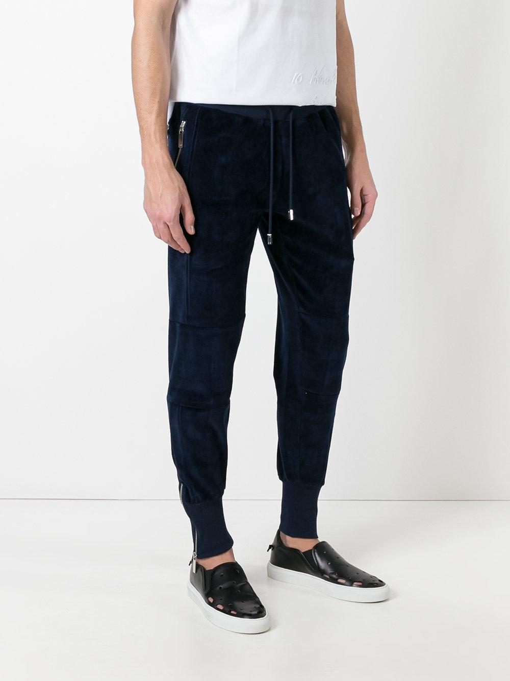 Blood Brother Cotton Vulcan Joggers in Blue for Men