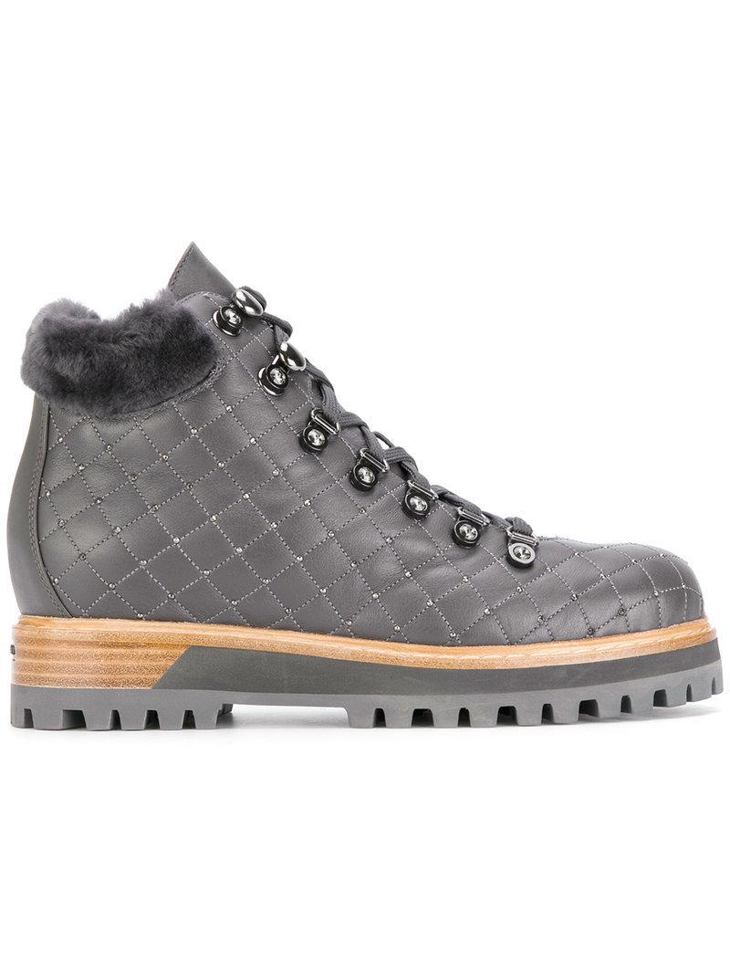 Chaussures De Montagne Matelassée Le Silla - Gris ZRcLHC0Z