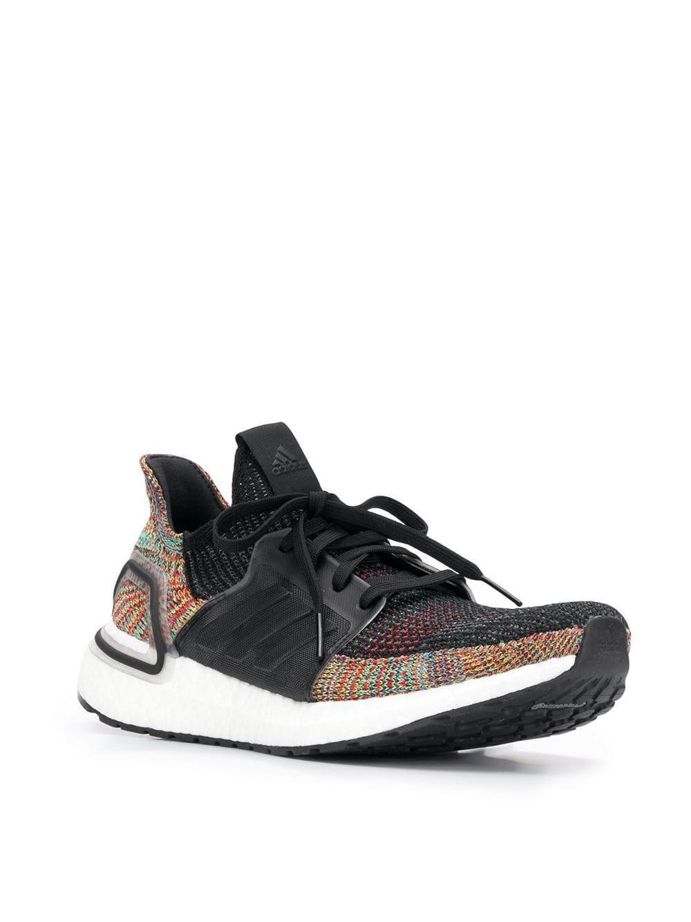 Zapatillas de punto adidas de Tejido sintético de color Negro para hombre
