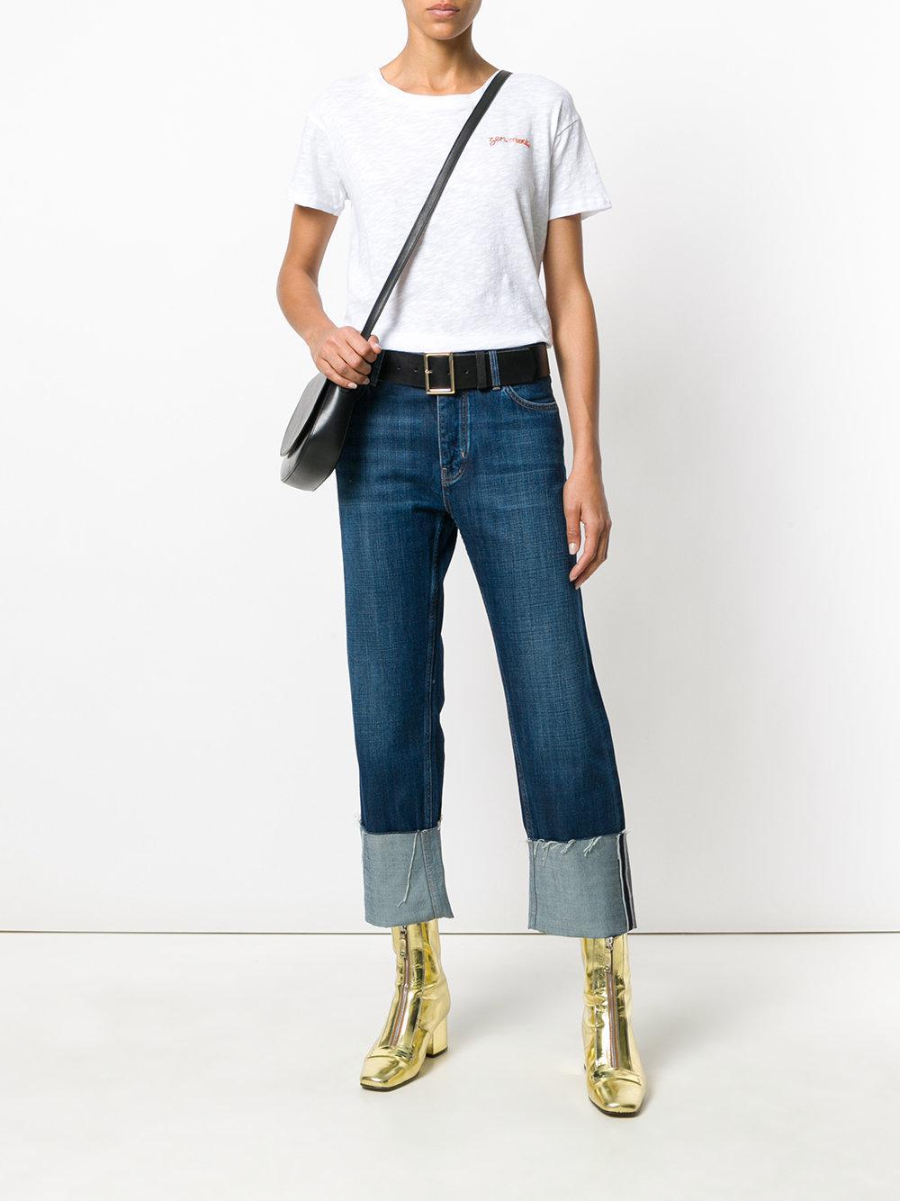 M.i.h Jeans Denim Phoebe Customised Jeans in Blue