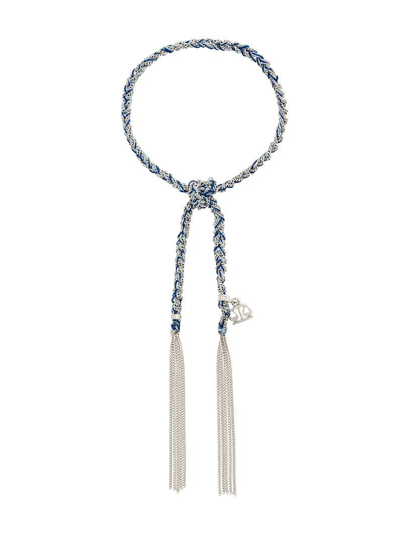 Carolina Bucci tassel bracelet - Metallic uoXLrO