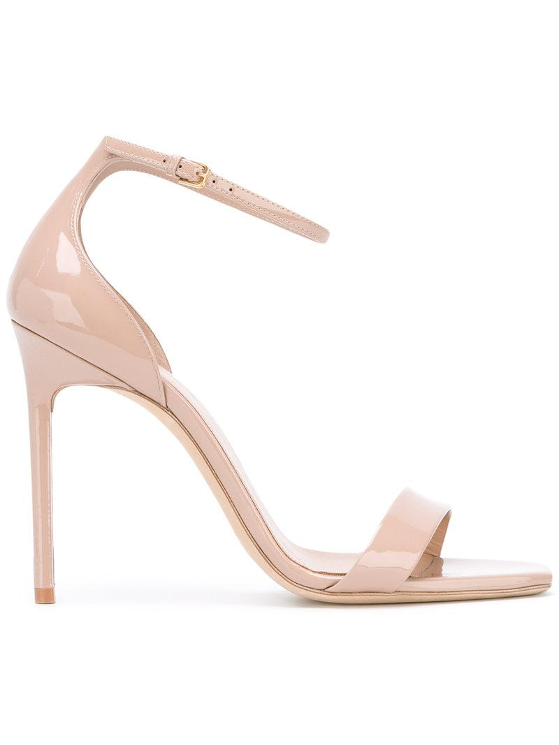 Amber sandals - Nude & Neutrals Saint Laurent cPzMuc