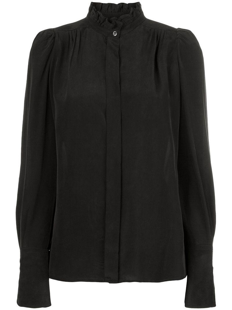 d1f7304358d89 Isabel Marant Lamia Blouse in Black - Save 9.791666666666671% - Lyst