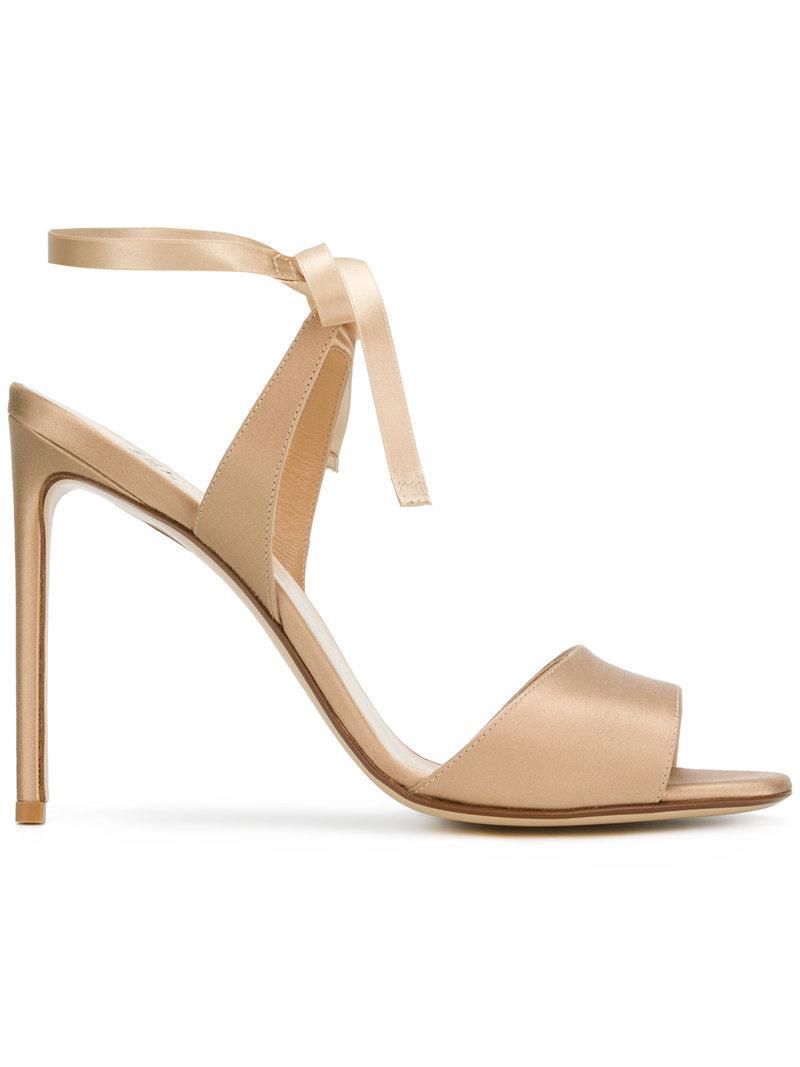 Francesco Russo wrapped ankle sandals - Nude & Neutrals farfetch Tienda De Oferta De Venta En Línea Venta Barata Con Tarjeta De Crédito Venta Salida De Precio Barato jcqCjrJ