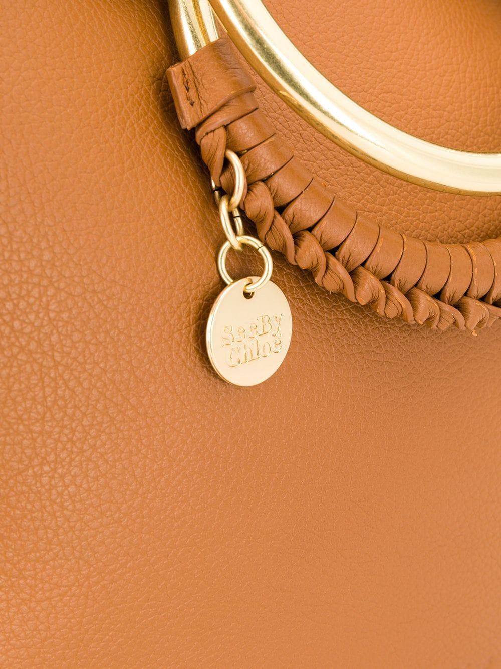 See By Chloé 'Monroe' Schultertasche in Braun GKEo2