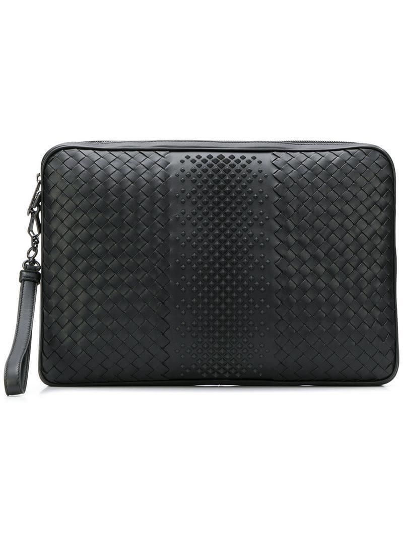 8cc0d9c69be8 Bottega Veneta Functional Laptop Case in Black for Men - Lyst