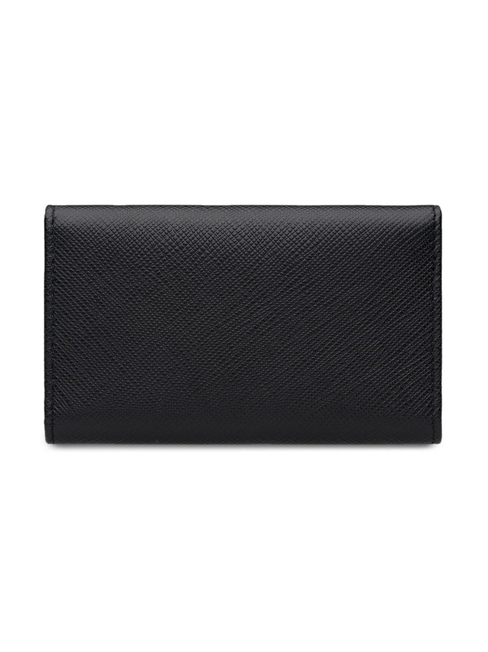 64f8105c507 ... discount code for prada black keyholder wallet for men lyst. view  fullscreen 3b323 17c8c