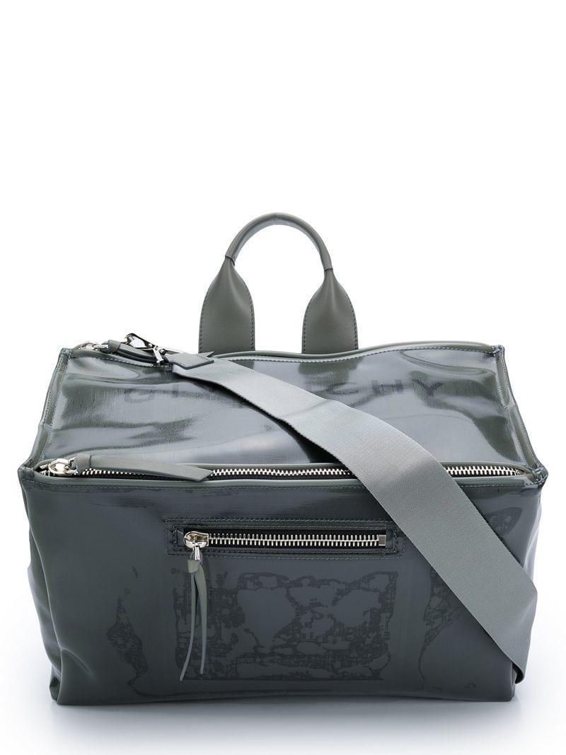 ed611579c22 Lyst - Givenchy Pandora Messenger Bag in Gray for Men