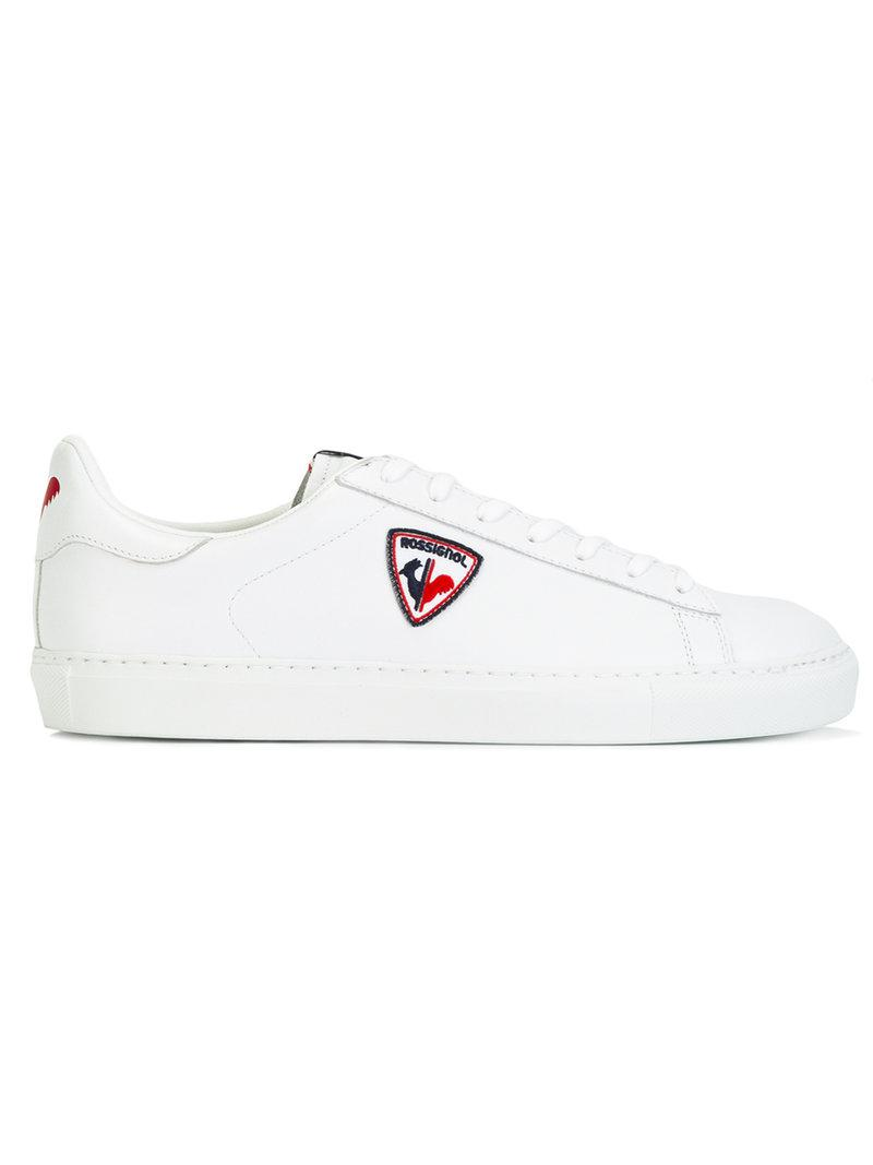 lateral patch sneakers - White Rossignol UQD5pKG7X