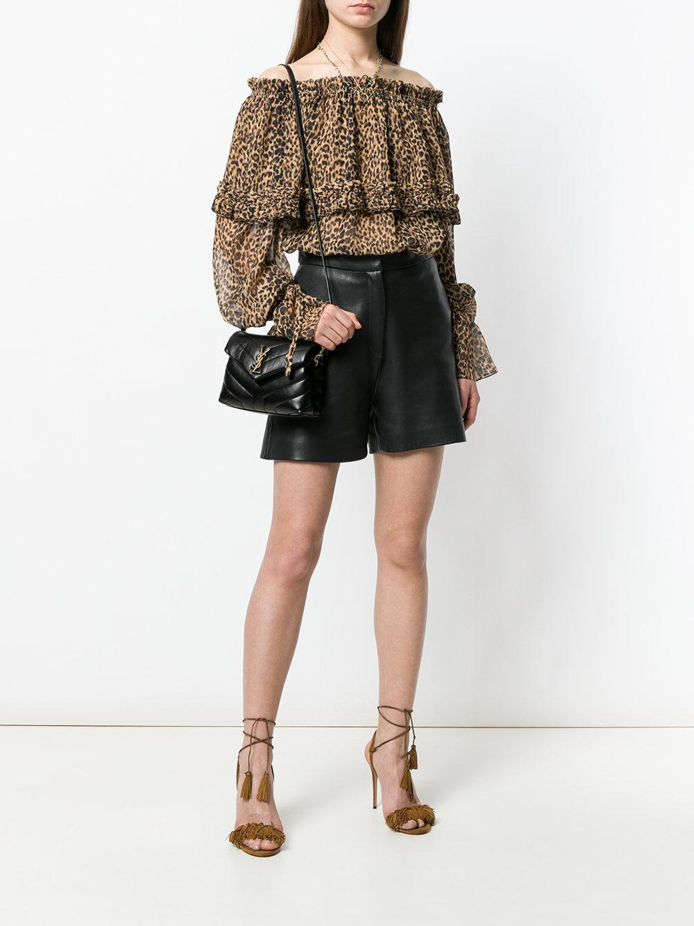 Lyst - Saint Laurent Toy Loulou Shoulder Bag in Black - Save 12% 3f4343c3974fc