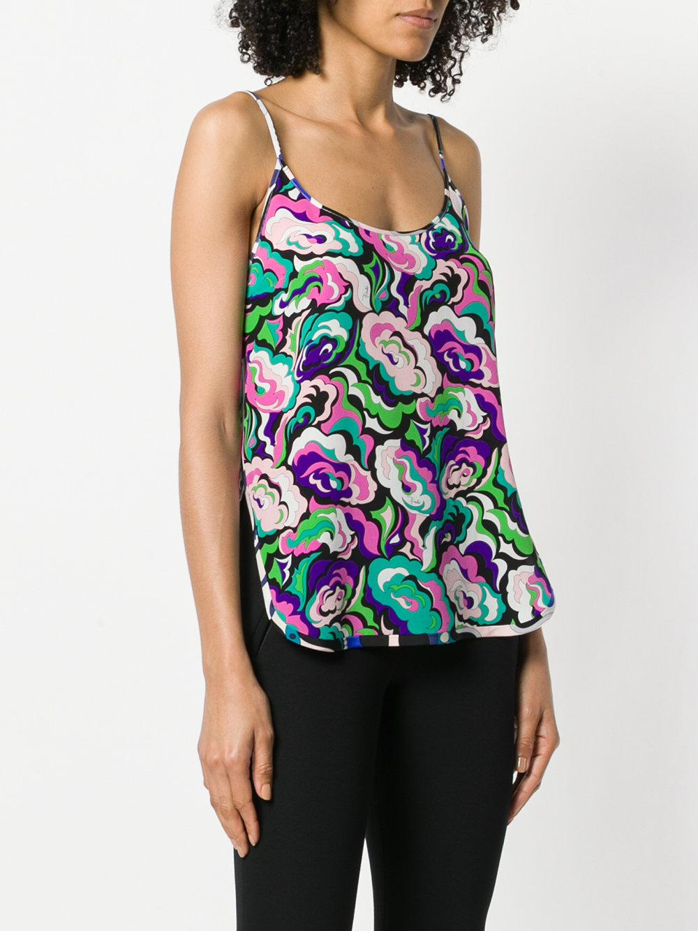 abstract floral cami - Multicolour Emilio Pucci Really Online dCvk213tdJ