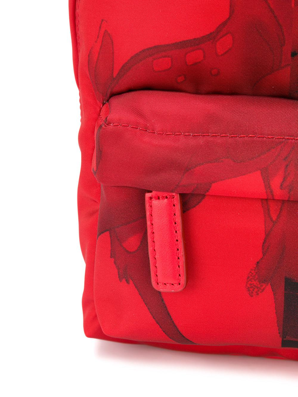 3b0b544e36 Lyst - Givenchy Red Bambi Print Small Backpack Bag in Red