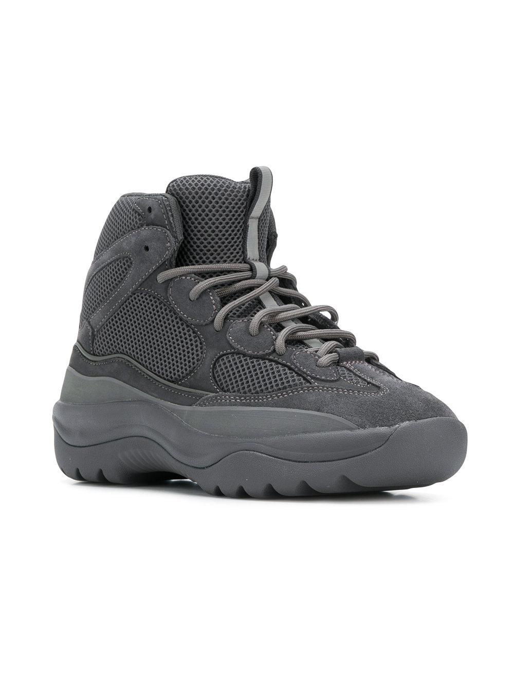 Yeezy Leather Season 6 Desert Rat Boots