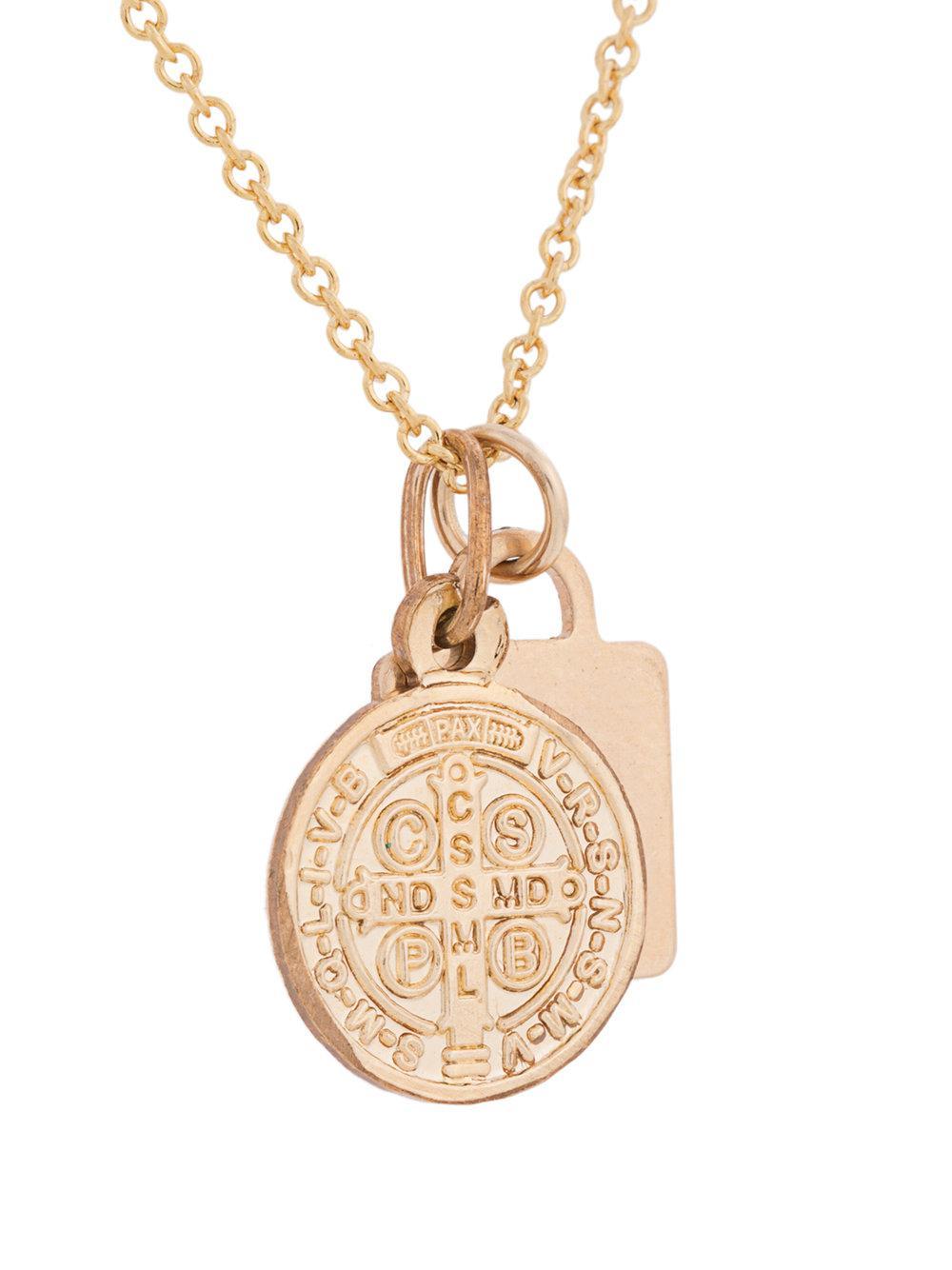 PetiteGrand Two Layer Byzantine necklace - Metallic 5yT5lKj