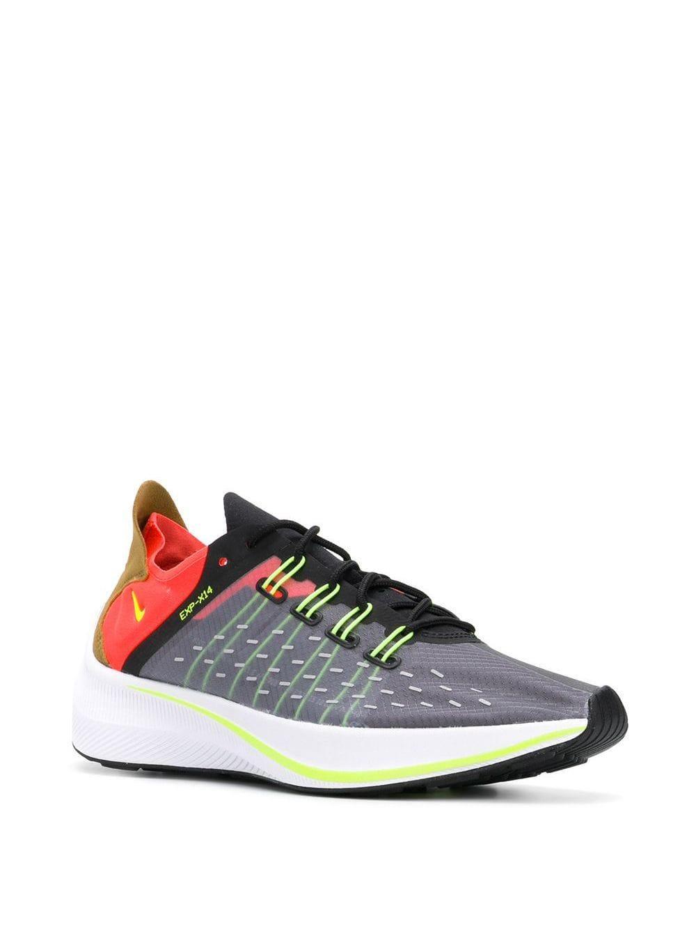 Zapatillas EXP-X14 Nike de Cuero de color Negro