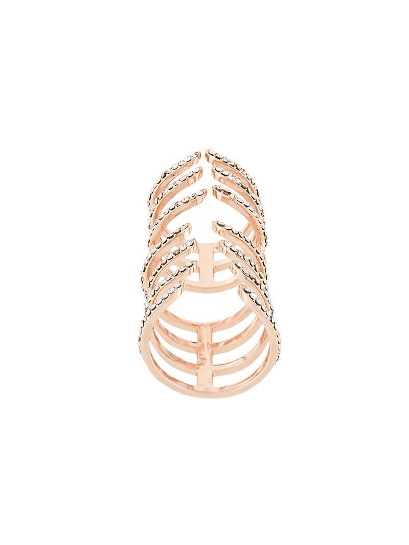 Federica Tosi Hook ring - Metallic DiSu31E