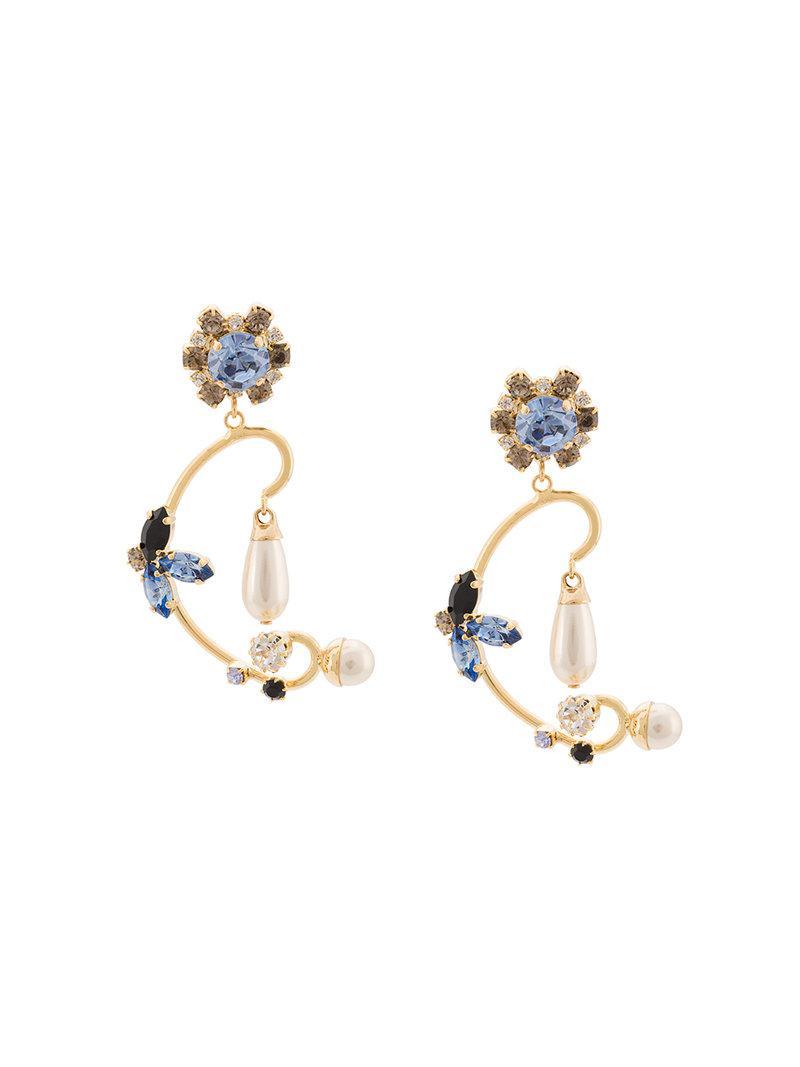 Erdem Floral Filigree earrings T5K2Z