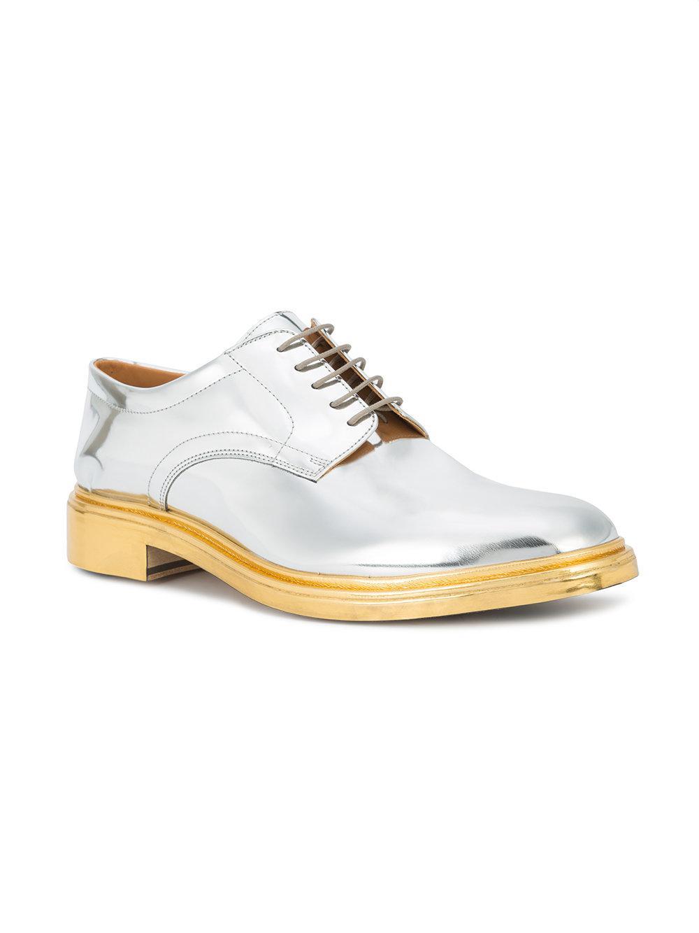 mirror derby shoes - Metallic Maison Martin Margiela bmJjJ6o
