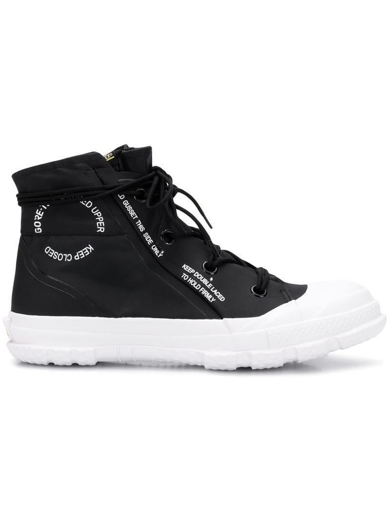 a407660d493 Lyst - Converse High Top Sneakers in Black for Men