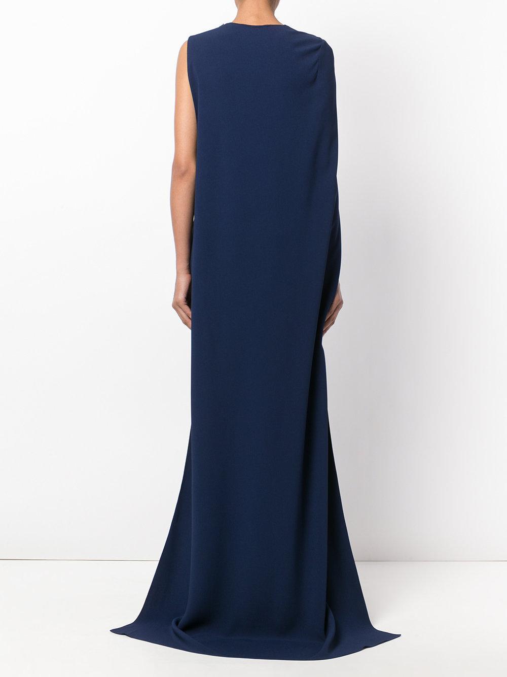Stella McCartney Silk Mirabelle Gown in Blue