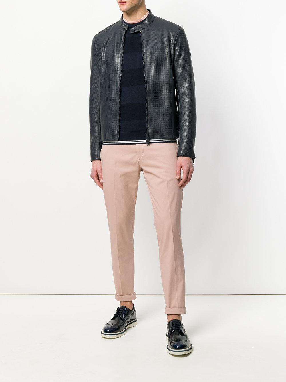 Paul Smith Cotton Slim-fit Chinos in Pink & Purple (Pink) for Men