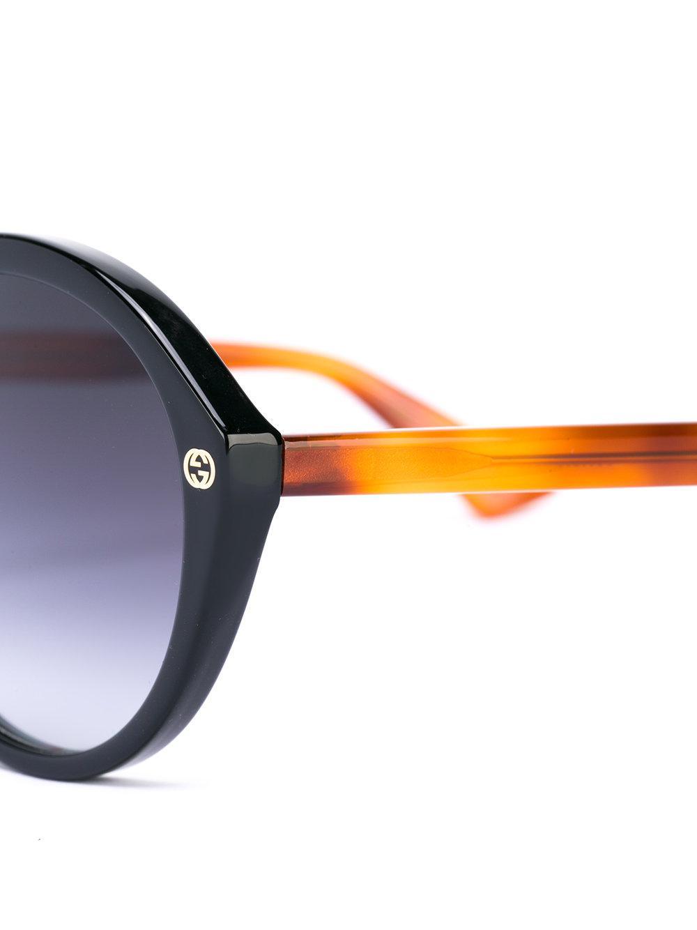 53823d13d6 Gucci Oversized Sunglasses Black