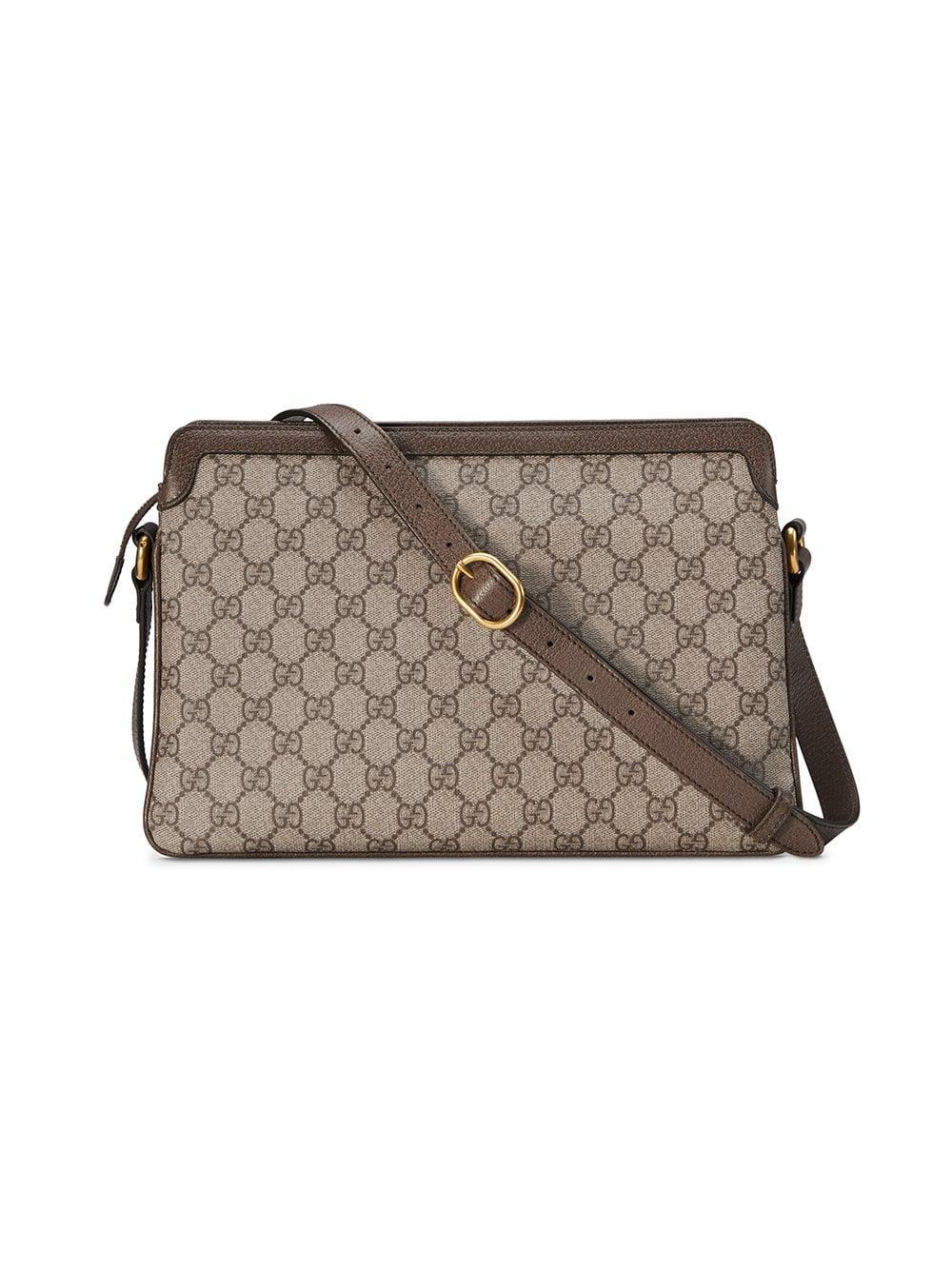 795c95152ab Lyst - Gucci GG Supreme Medium Shoulder Bag