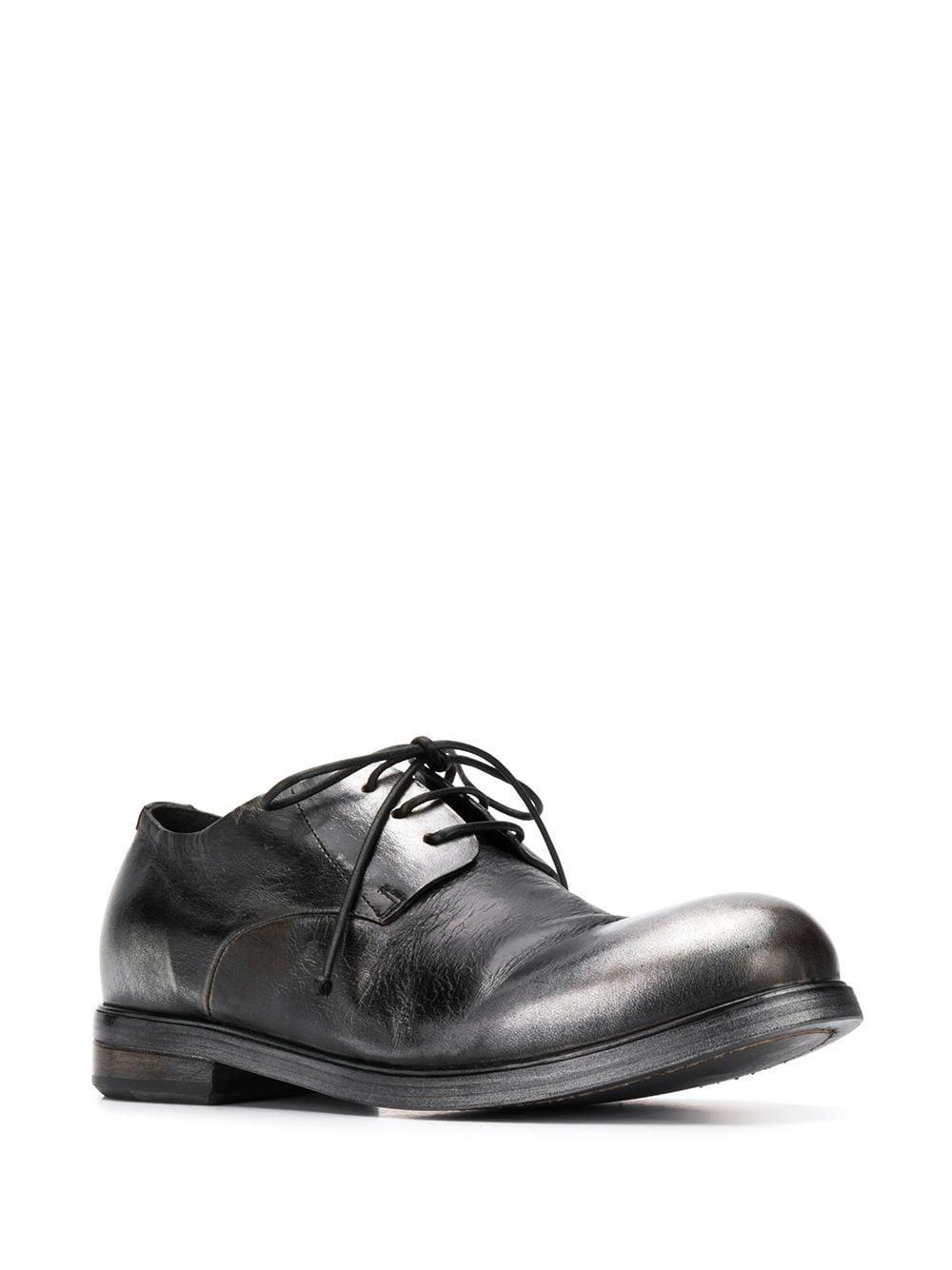 Zapatos derby con efecto pulido Marsèll de Cuero de color Negro para hombre