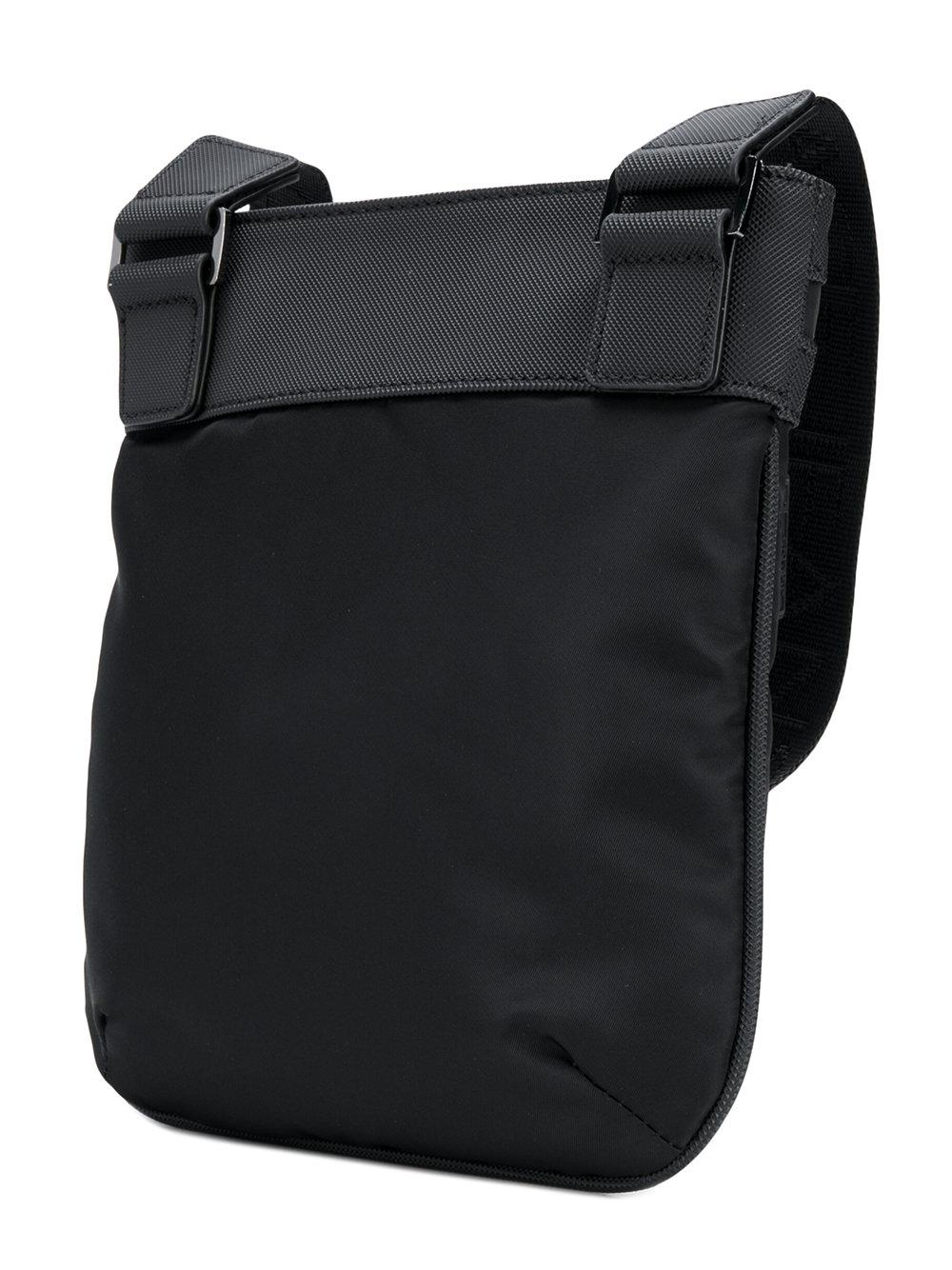 Lyst - Versace Jeans Logo Side Bag in Black for Men 74f32316cdda0