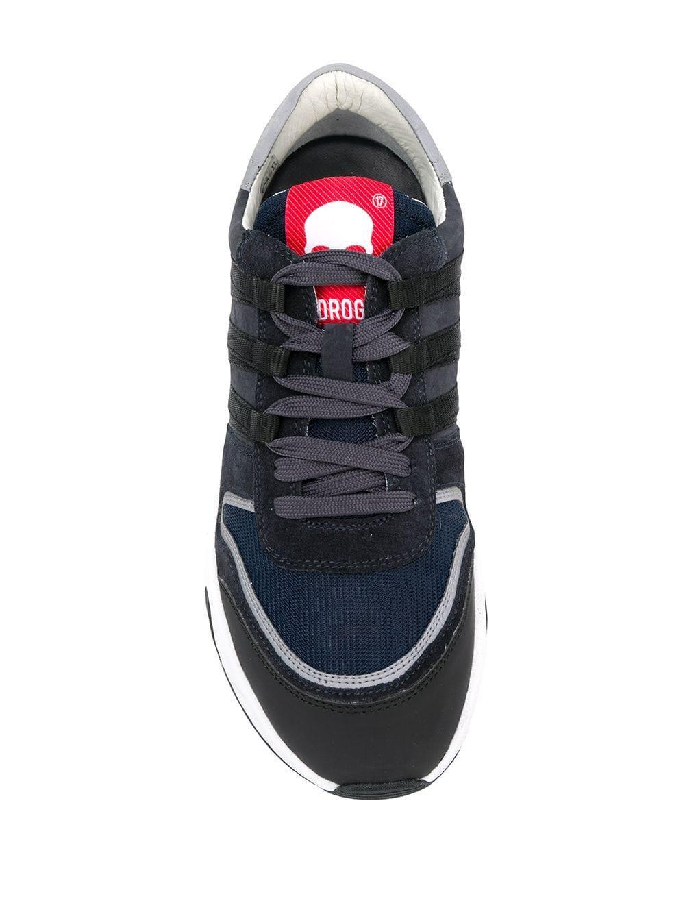 Hydrogen Leer Chunky Sneakers in het Blauw voor heren