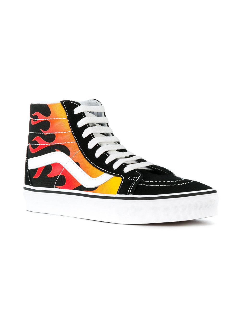 Vans Sk Hi Pro Shoes Black