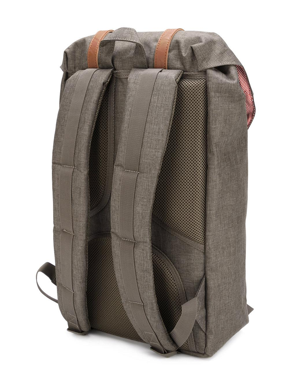 Herschel Supply Co. Cotton Double Strap Backpack in Green for Men