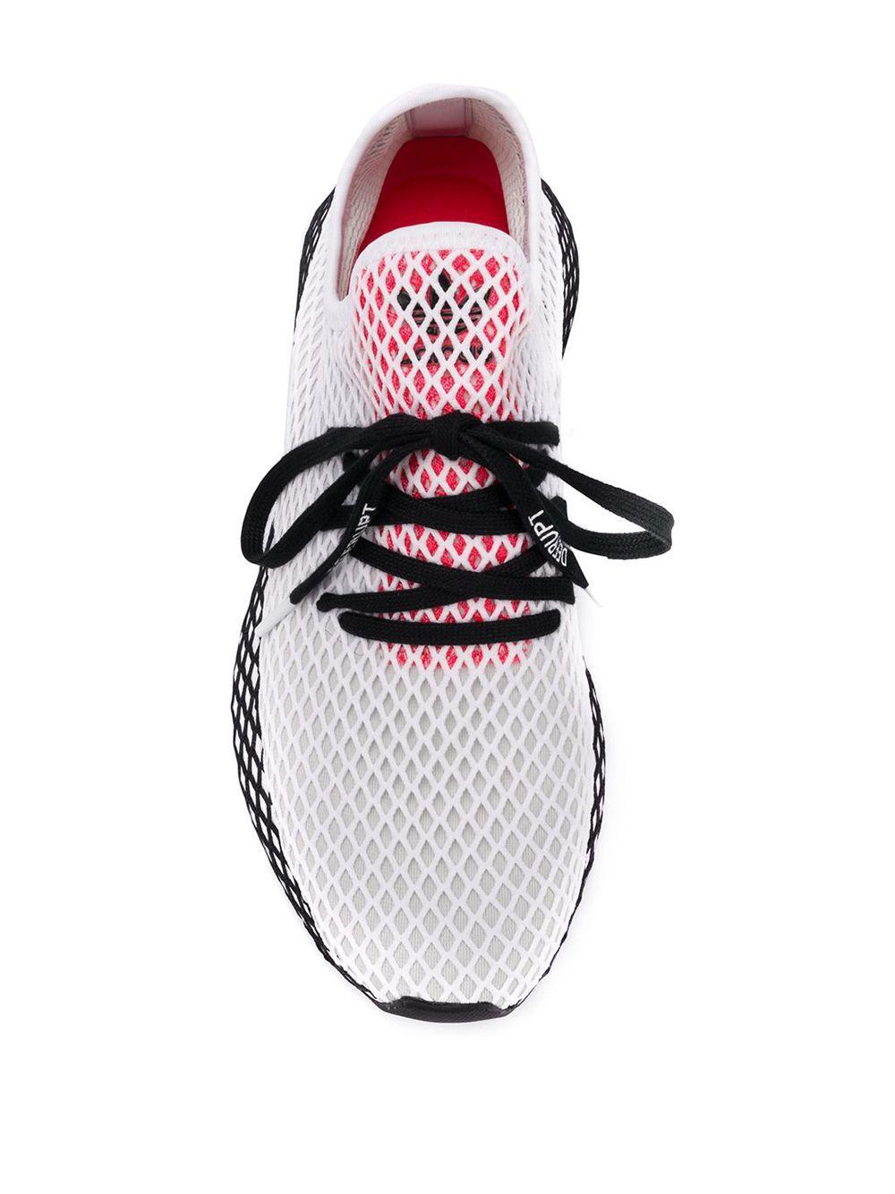 adidas Synthetisch Deerupt Hardloopsneakers in het Wit voor heren