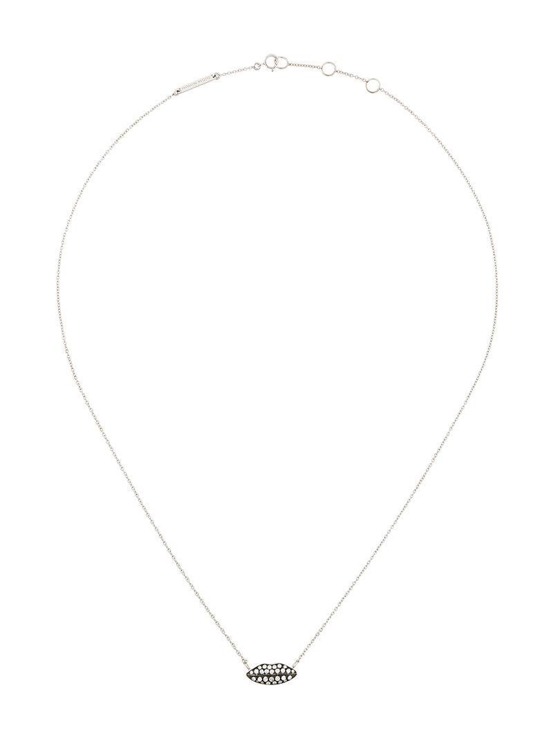 Delfina Delettrez Ana necklace - Metallic xRytbAJ