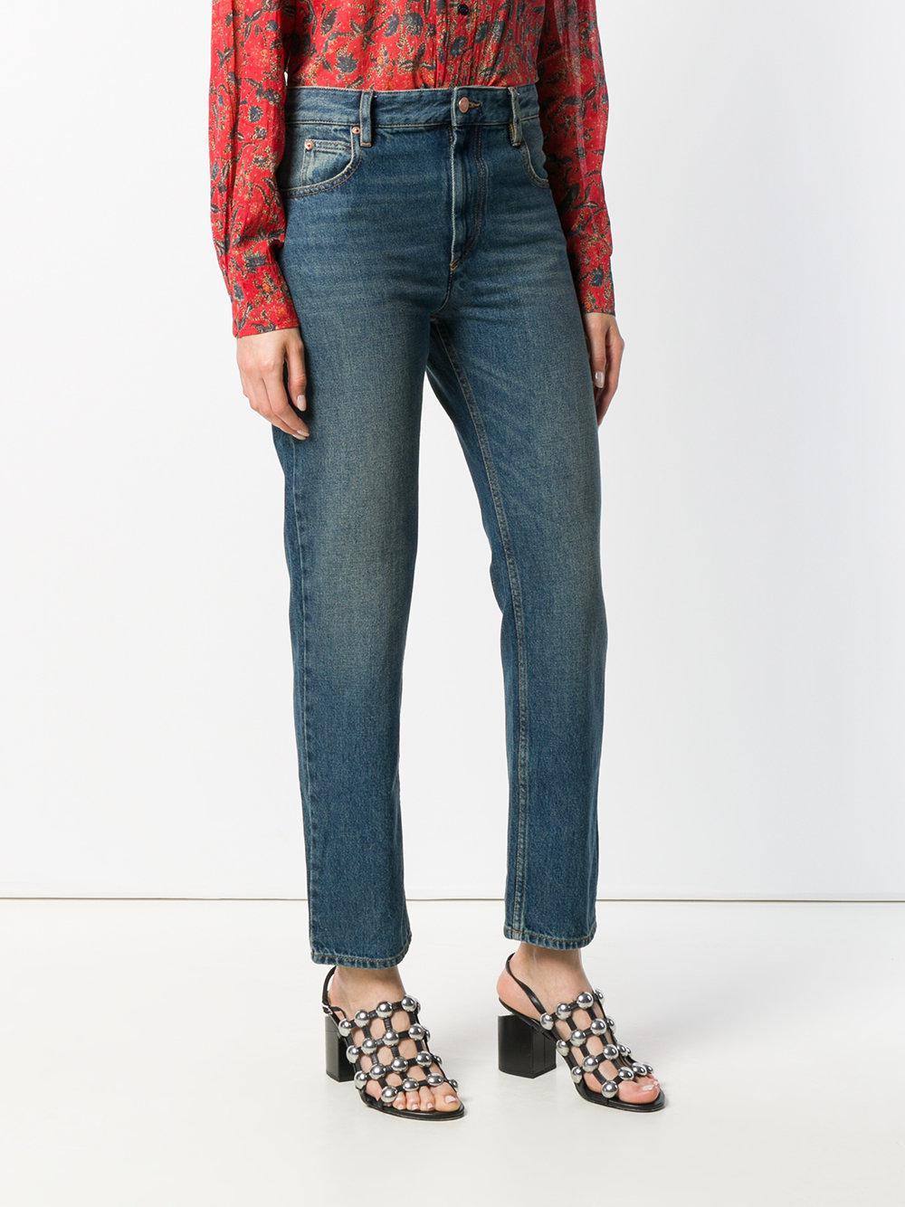 Étoile Isabel Marant Denim Cliff Jeans in Blue