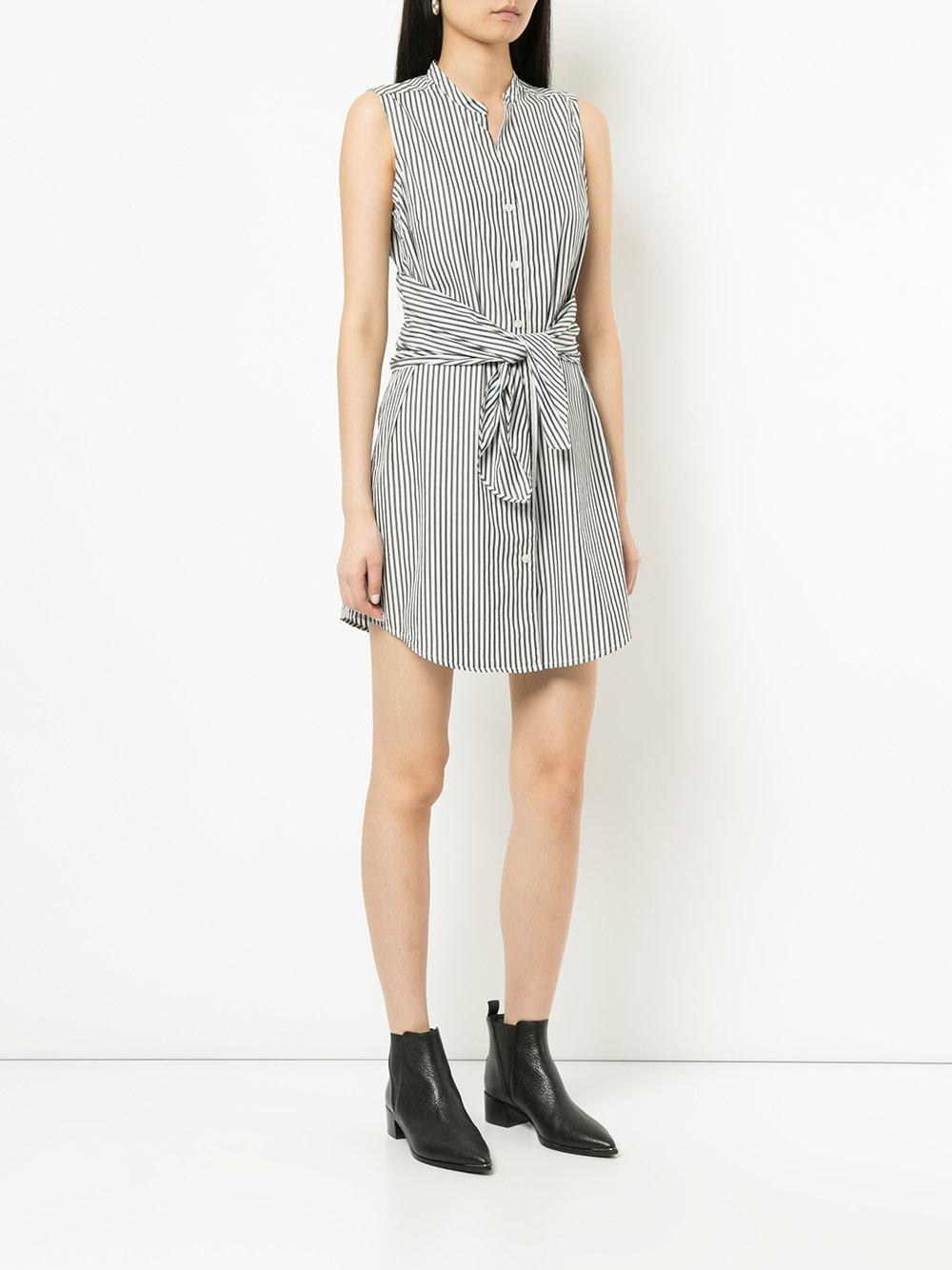 candy stripe shirt dress - White Frame Denim Cheap How Much e8nq4L