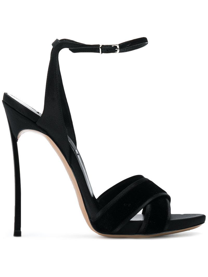 Sandales Crossover Casadei - Noir 44qqzi6
