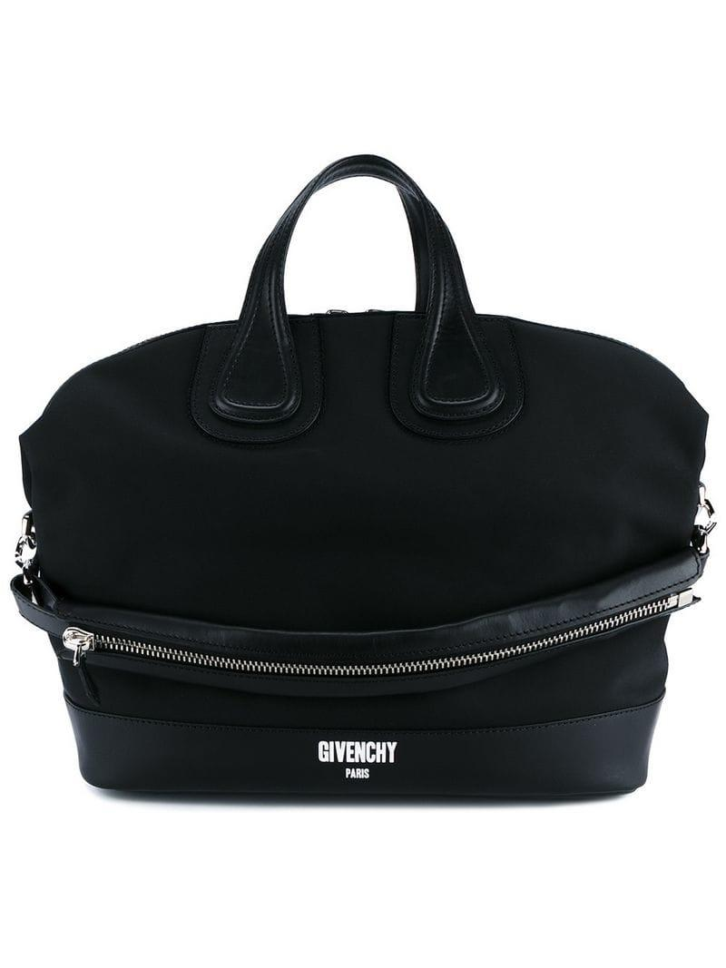 01260ff02140 Lyst - Givenchy  nightingale  Top Handle Bag in Black for Men