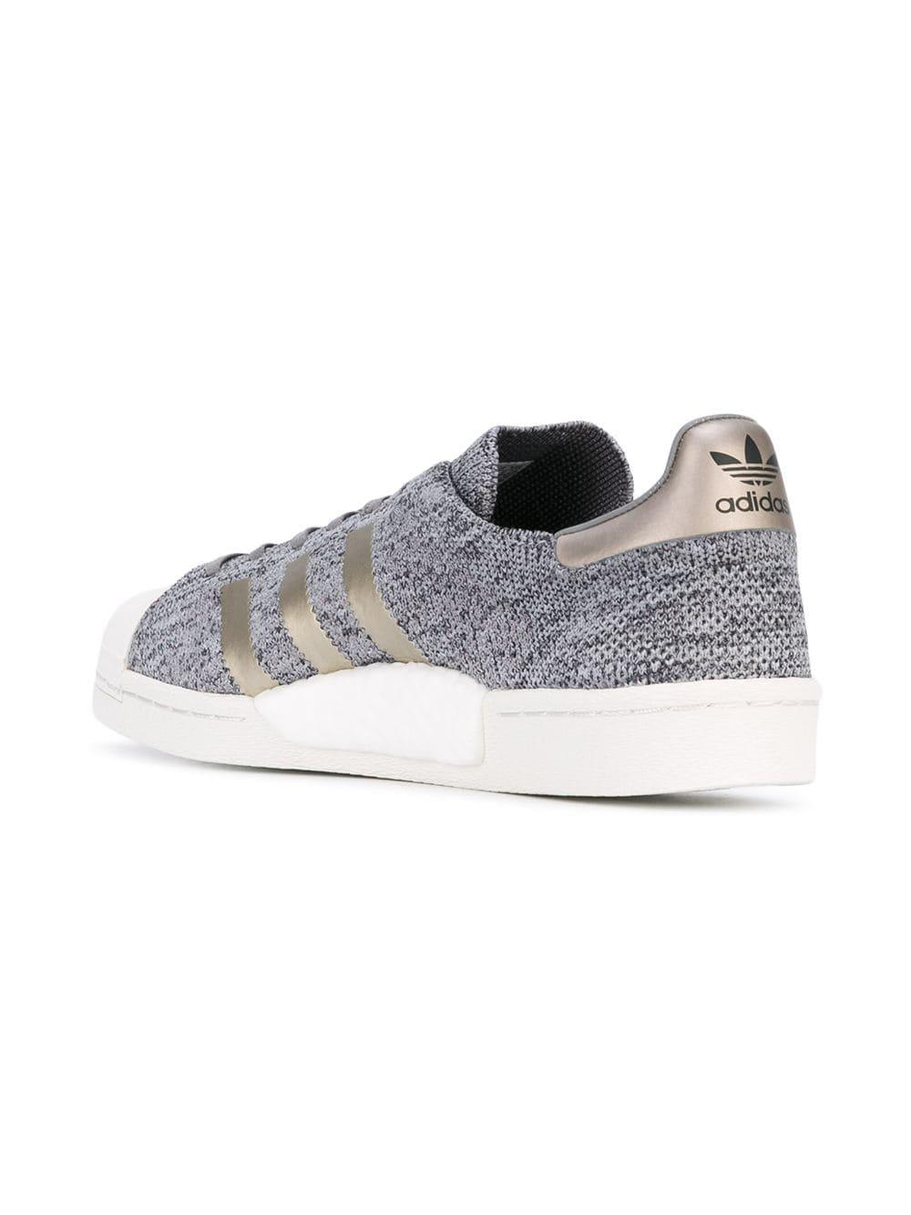 adidas Cotton Superstar Boost Trainers in Grey (Grey)