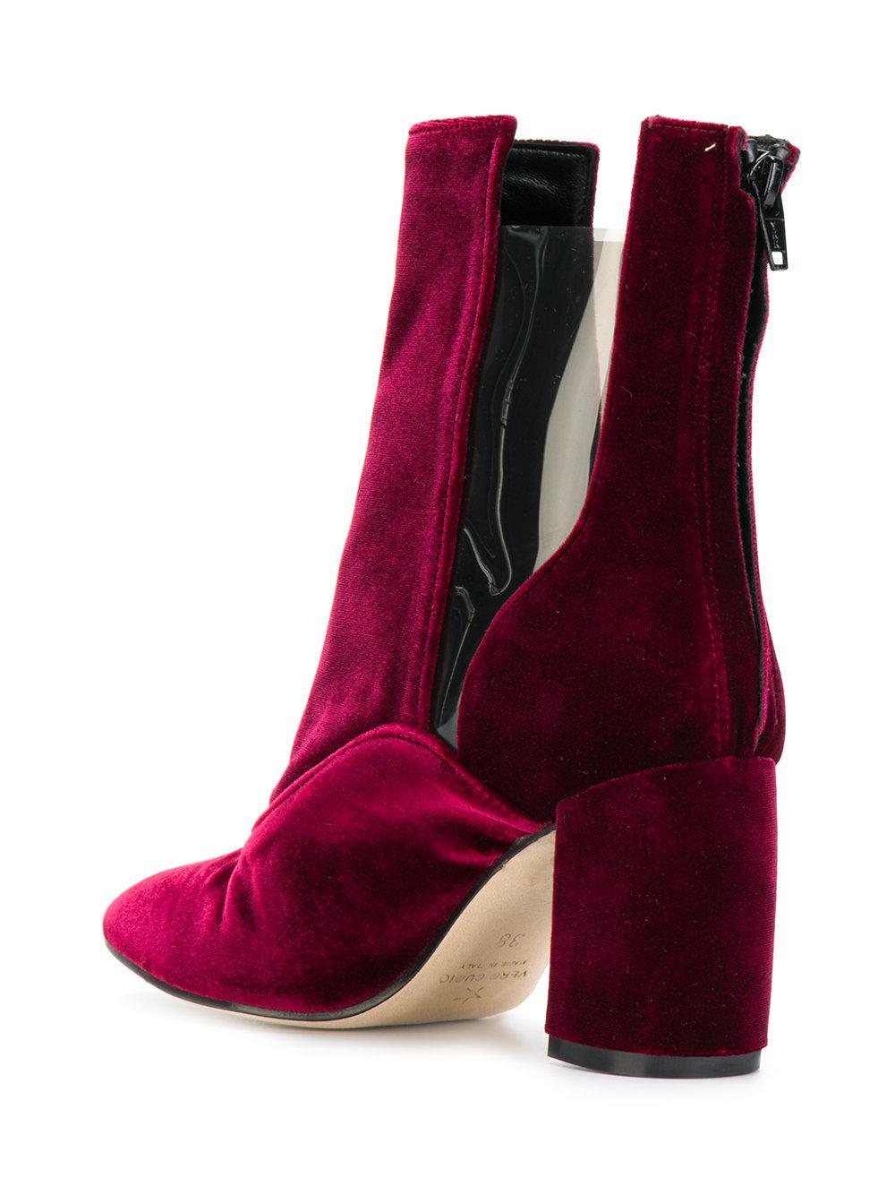 MARC ELLIS Purple Suede Ankle Boots Free Shipping New Styles Cheap Sale Marketable YSqEEZ