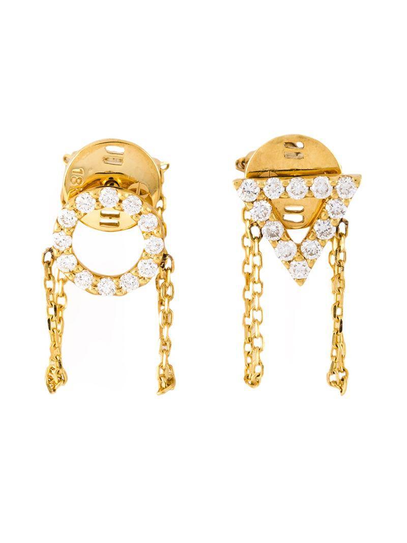 Eshvi August Peridot Earrings hjyzc6xUTt