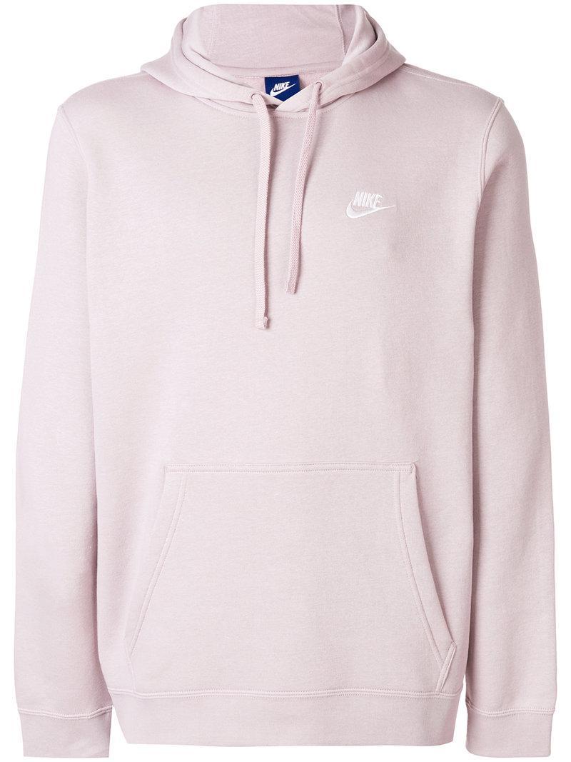 En Nike Capuche Pink Pour Sweat À Coloris Club Homme 0NO8nyvmw