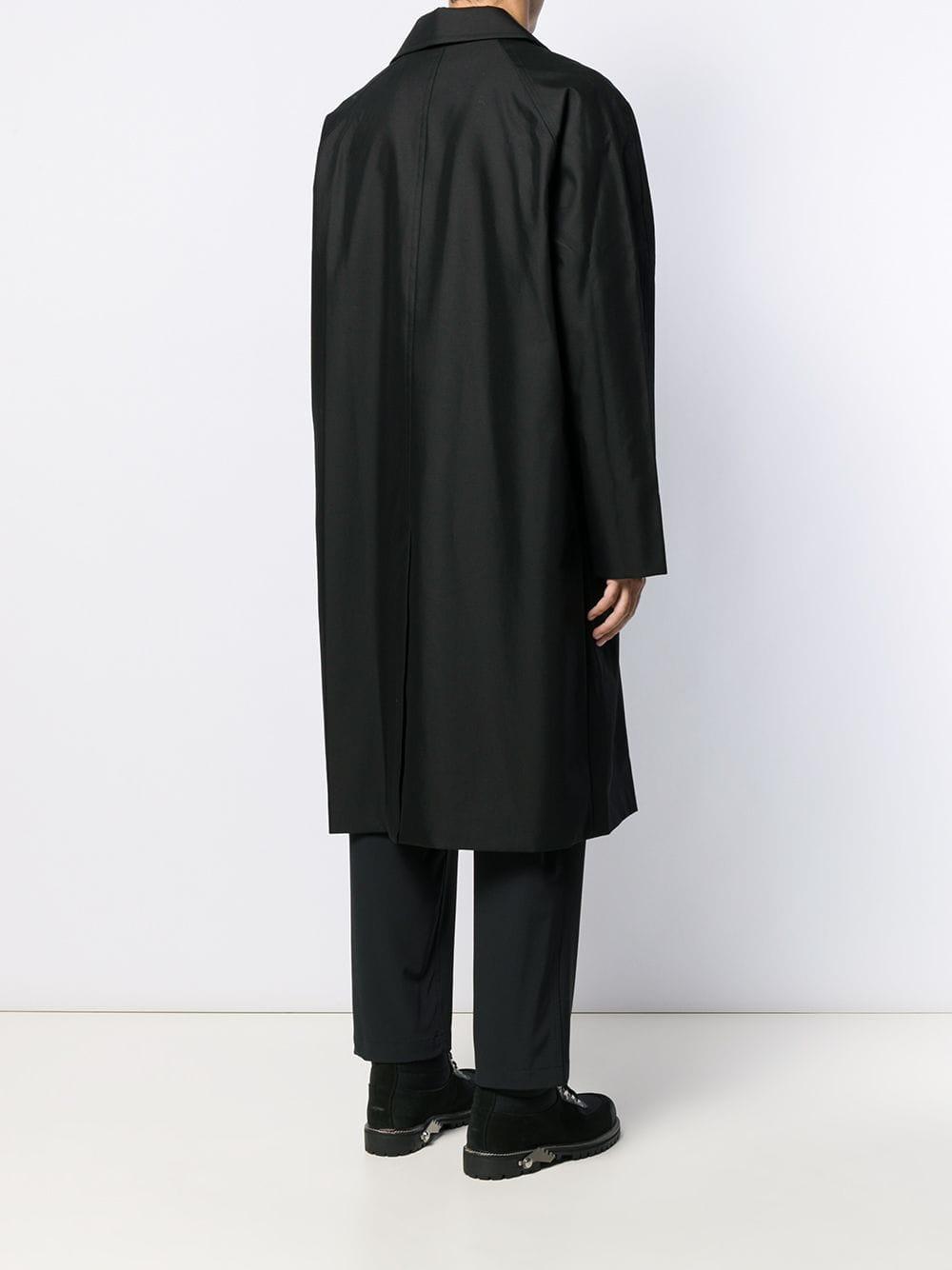 Alexander Wang Katoen Jas Met Dubbele Rij Knopen in het Zwart voor heren