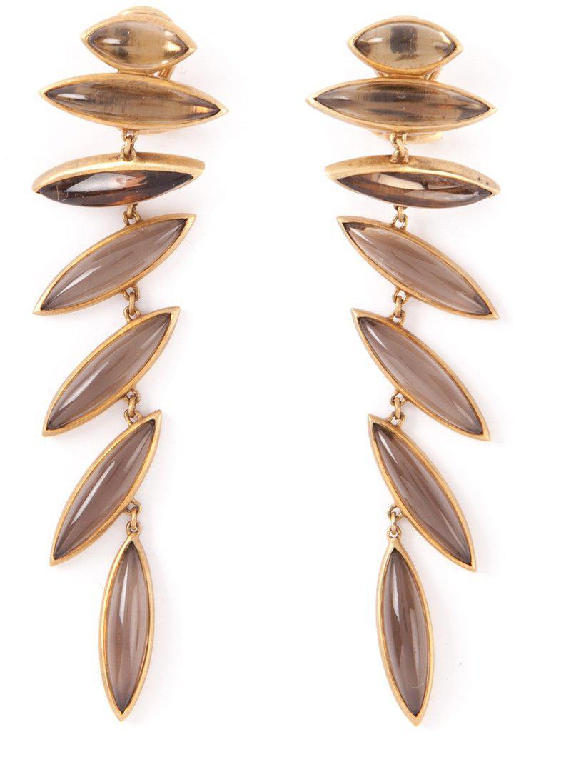 Antonio Bernardo 18kt yellow gold Wing clip-on earrings - Metallic d6zI7icbDp