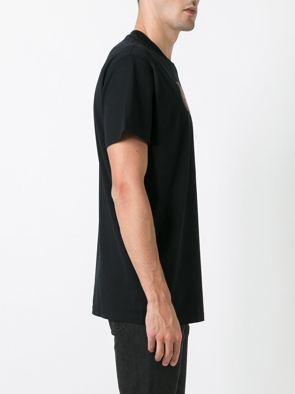 givenchy cuban fit 17 print t shirt in black for men lyst. Black Bedroom Furniture Sets. Home Design Ideas