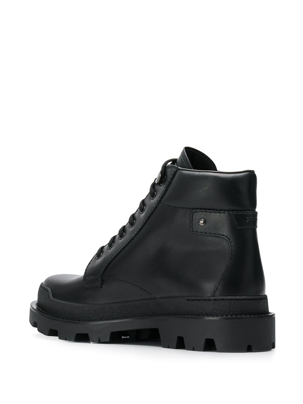 ca83ece03bf Men's Black Lace-up Hiking Boots