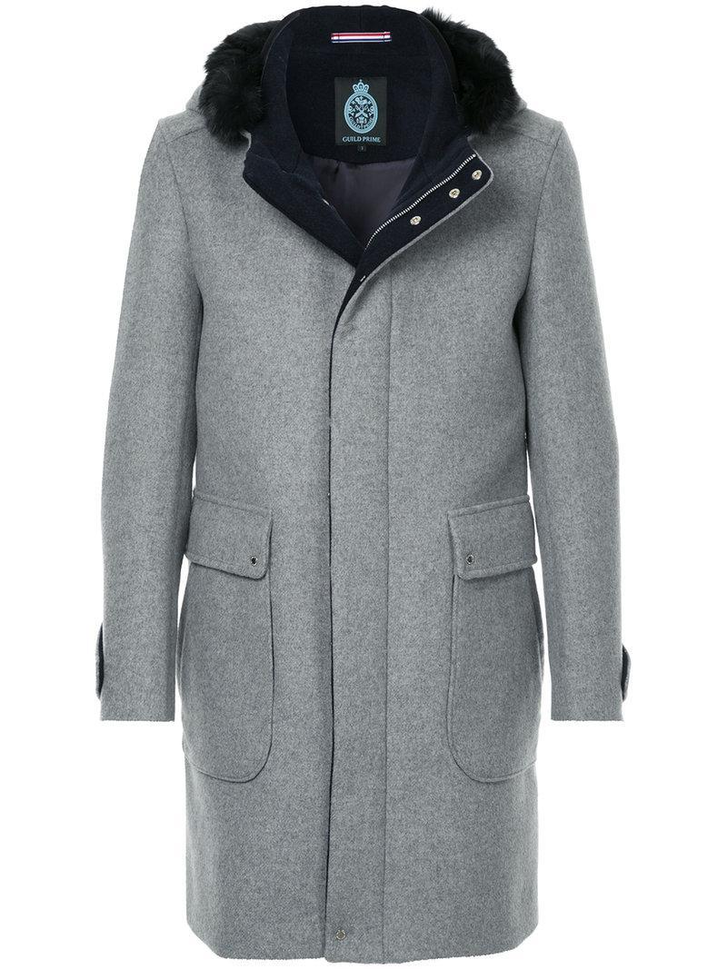 Prime Panelled Bleu Coat Panelled Coat Guild nXaYn