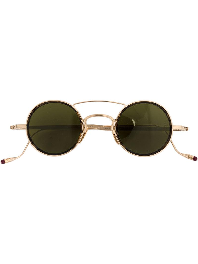 square frame sunglasses - Metallic Jacques Marie Mage