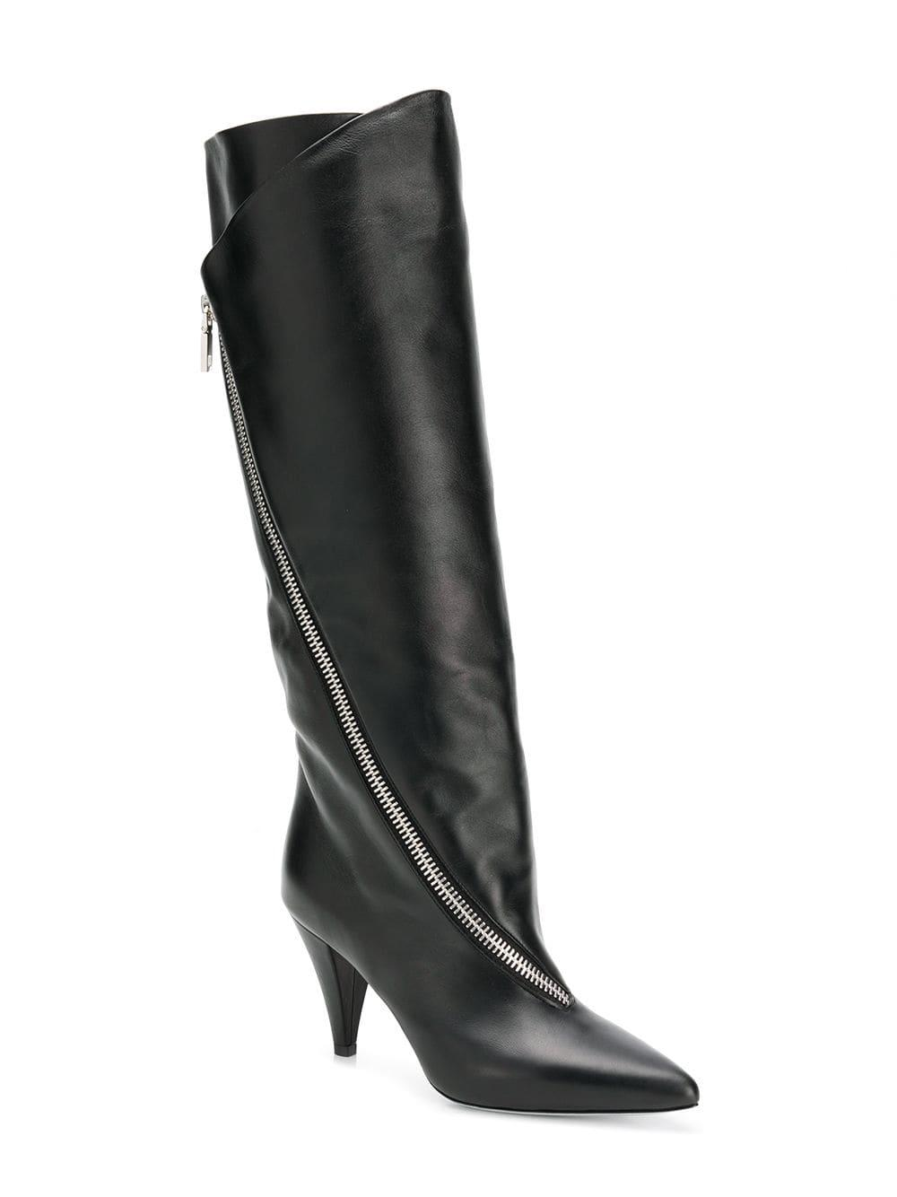 329c7e1ddfe3 Lyst - Givenchy Police High Boots in Black