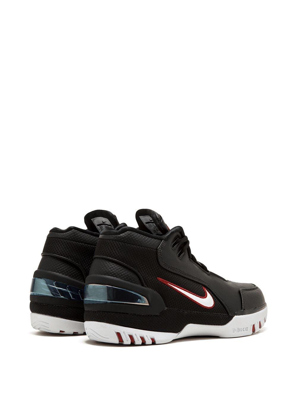 Nike Leer Air Zoom Generation As Sneakers in het Zwart voor heren
